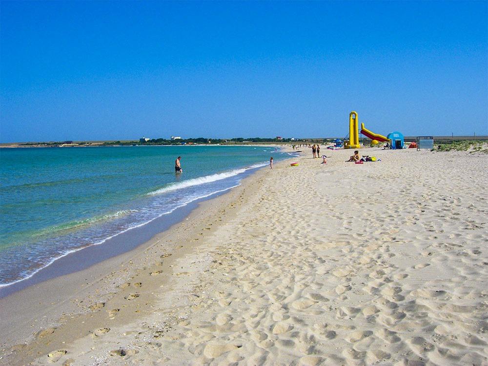 На фото – пляж «Тарханкут»